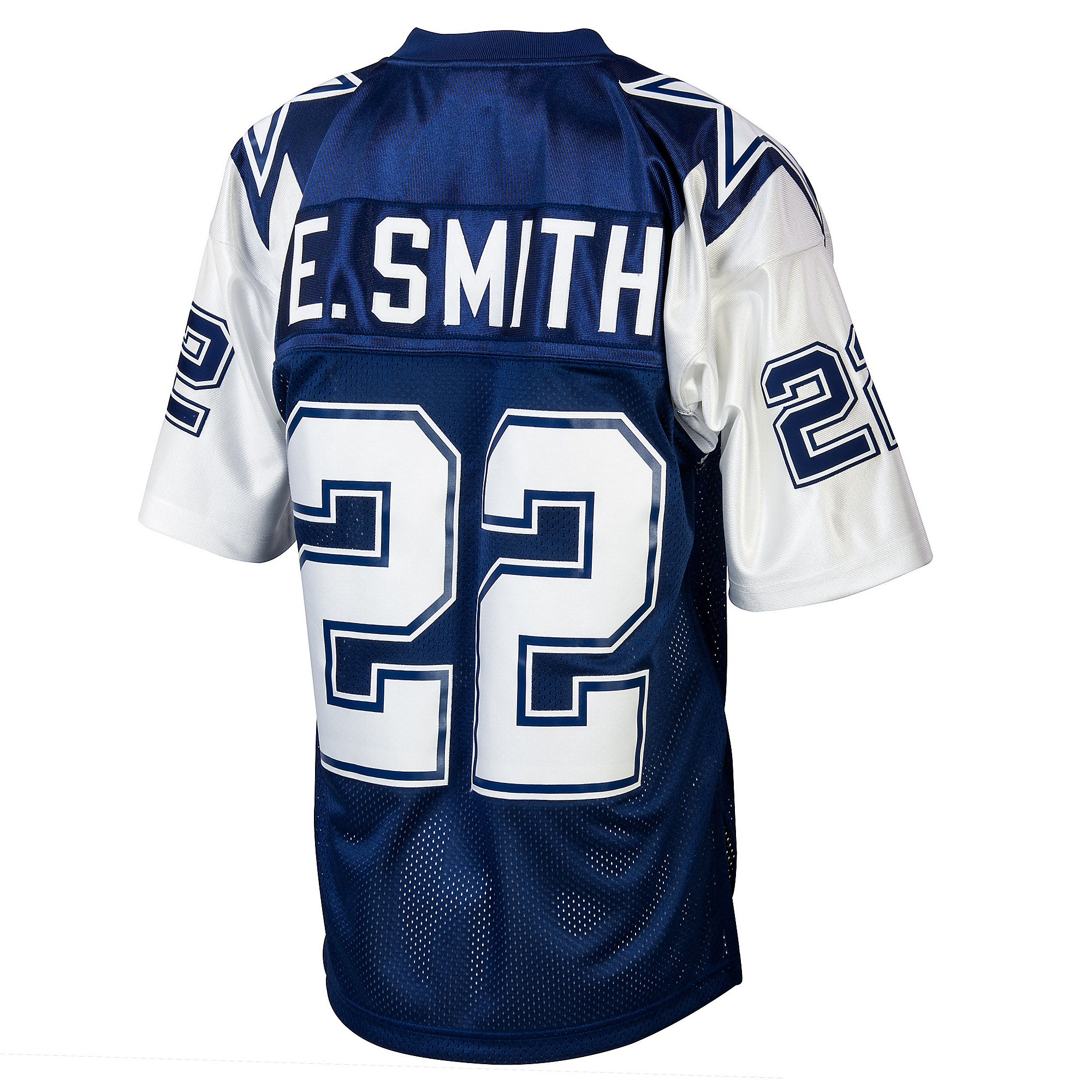 official photos 8e646 2f5ef Dallas Cowboys Emmitt Smith 1995 Mitchell & Ness Double Star Jersey |  Dallas Cowboys Pro Shop