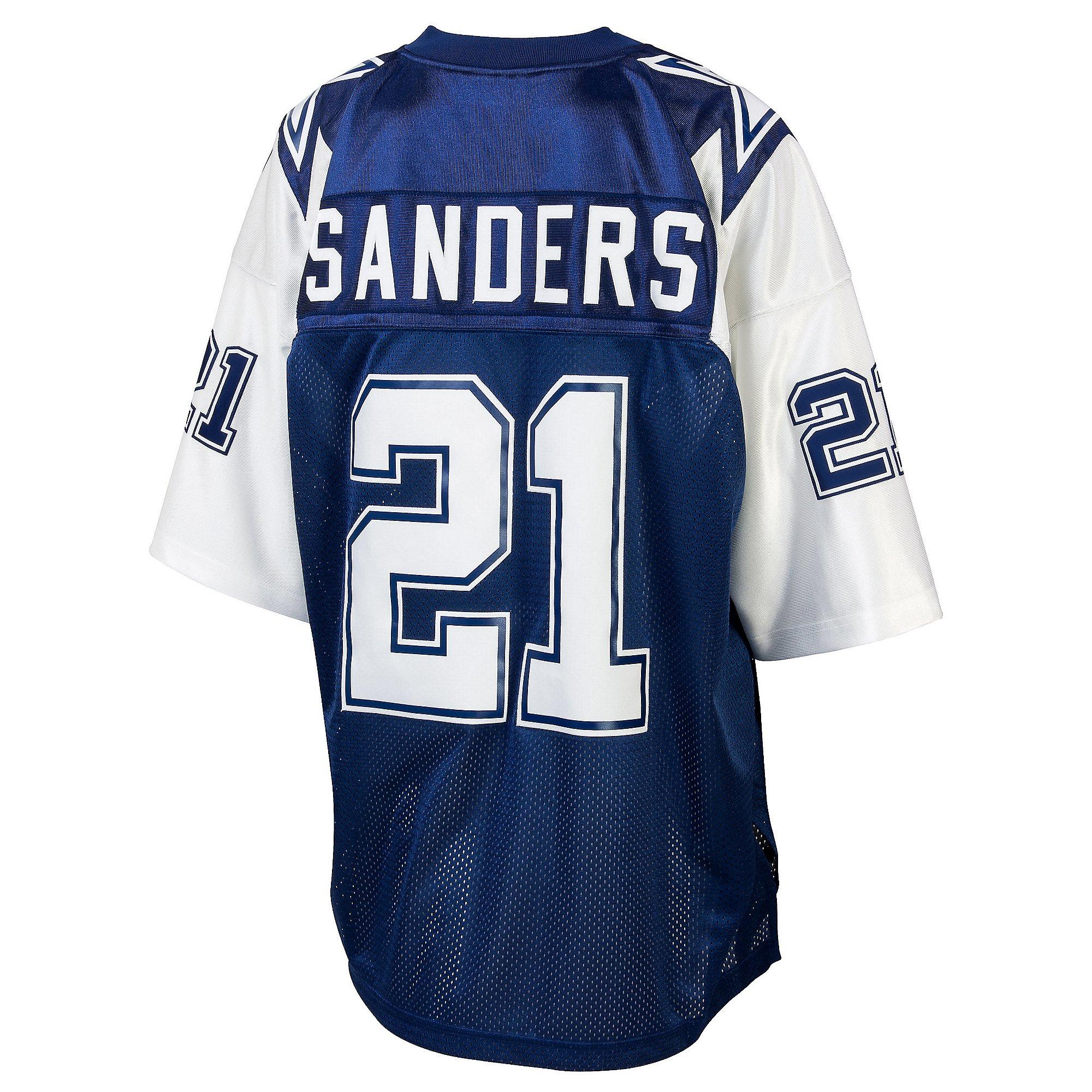 Dallas Cowboys Deion Sanders #21 1995 Authentic Double Star Jersey ...