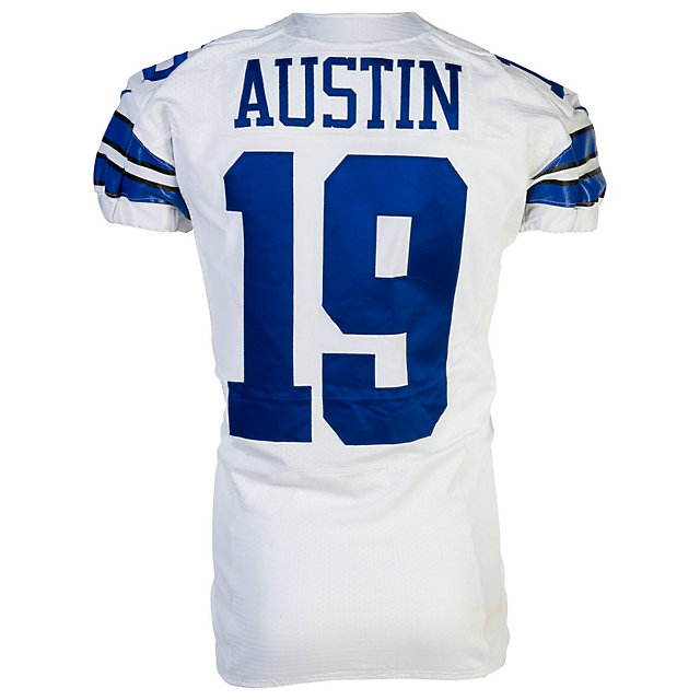 1801e7028 ... Dallas Cowboys Nike Miles Austin 19 Game Worn 91513 Jersey Special  Edition and Game Used Cowboys ...