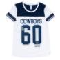 Dallas Cowboys Justice Short Sleeve Mesh Tunic