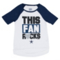 Dallas Cowboys Justice Raglan Fans Rock Tunic