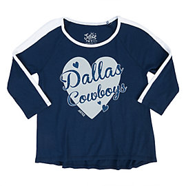 Dallas Cowboys Justice Raglan Tee