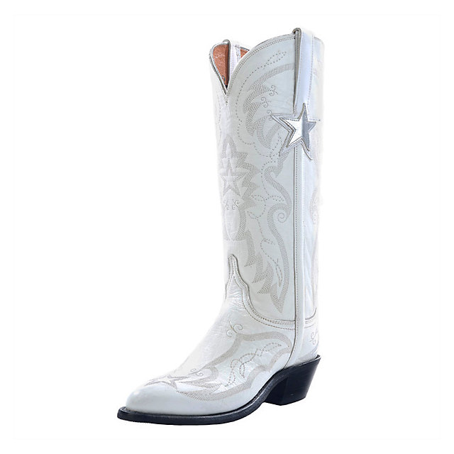 Dallas Cowboys Lucchese Womens Official Cheerleader Boot - Width B ...