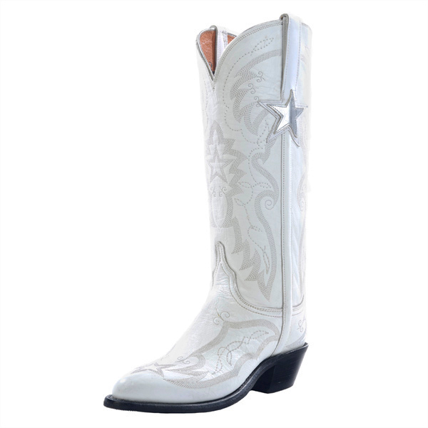 Dallas Cowboys Lucchese Womens Official Cheerleader Boot - Width B