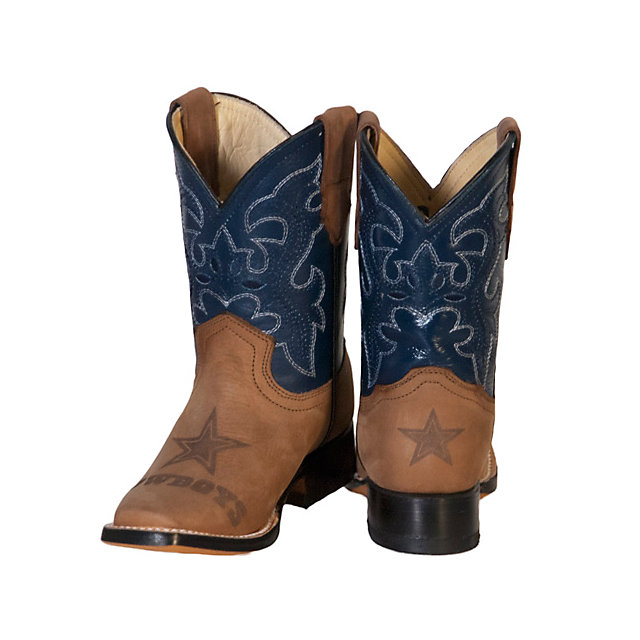 Dallas Cowboys Kids Western Boot | Kids Footwear | Other | Kids ...