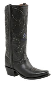 Dallas Cowboys Lucchese Womens Mosaic Persian Art Boot