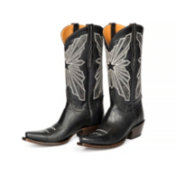 Dallas Cowboys Lucchese Womens Cowhide Boot