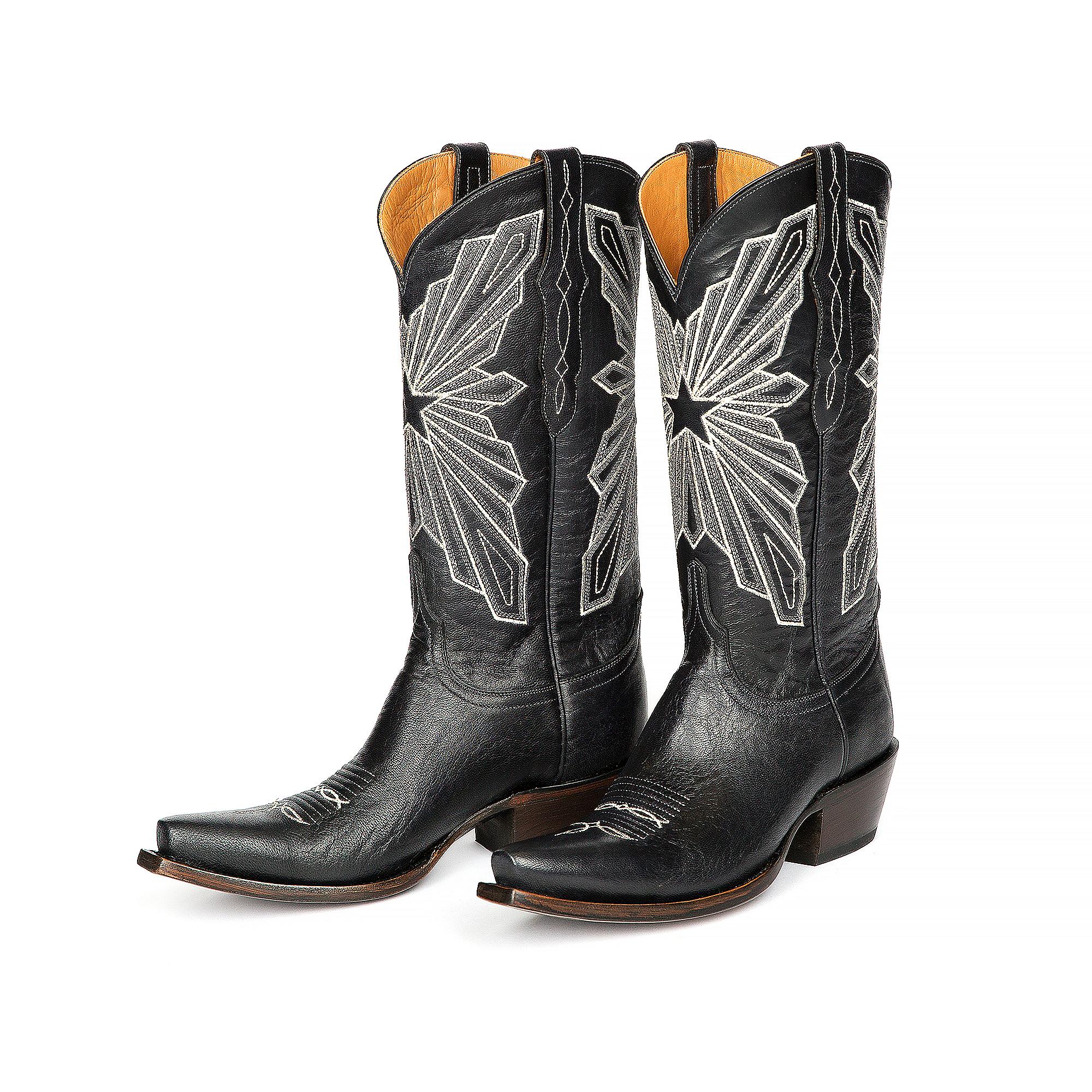 online store cb4cd 8ae4f Dallas Cowboys Lucchese Womens Cowhide Boot | Dallas Cowboys ...