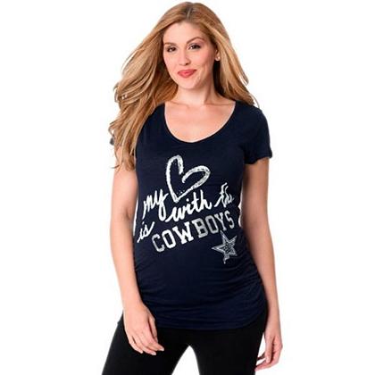 Dallas Cowboys Maternity Love Cowboys Tee Womens 10 Womens Clearance Cowboys  Catalog Dallas Cowboys Pro ... fcb9897f9