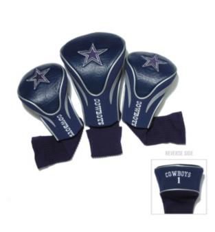Dallas Cowboys 3 Pack Contour Headcovers