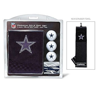 Dallas Cowboys Embroidered Golf Towel Gift Set