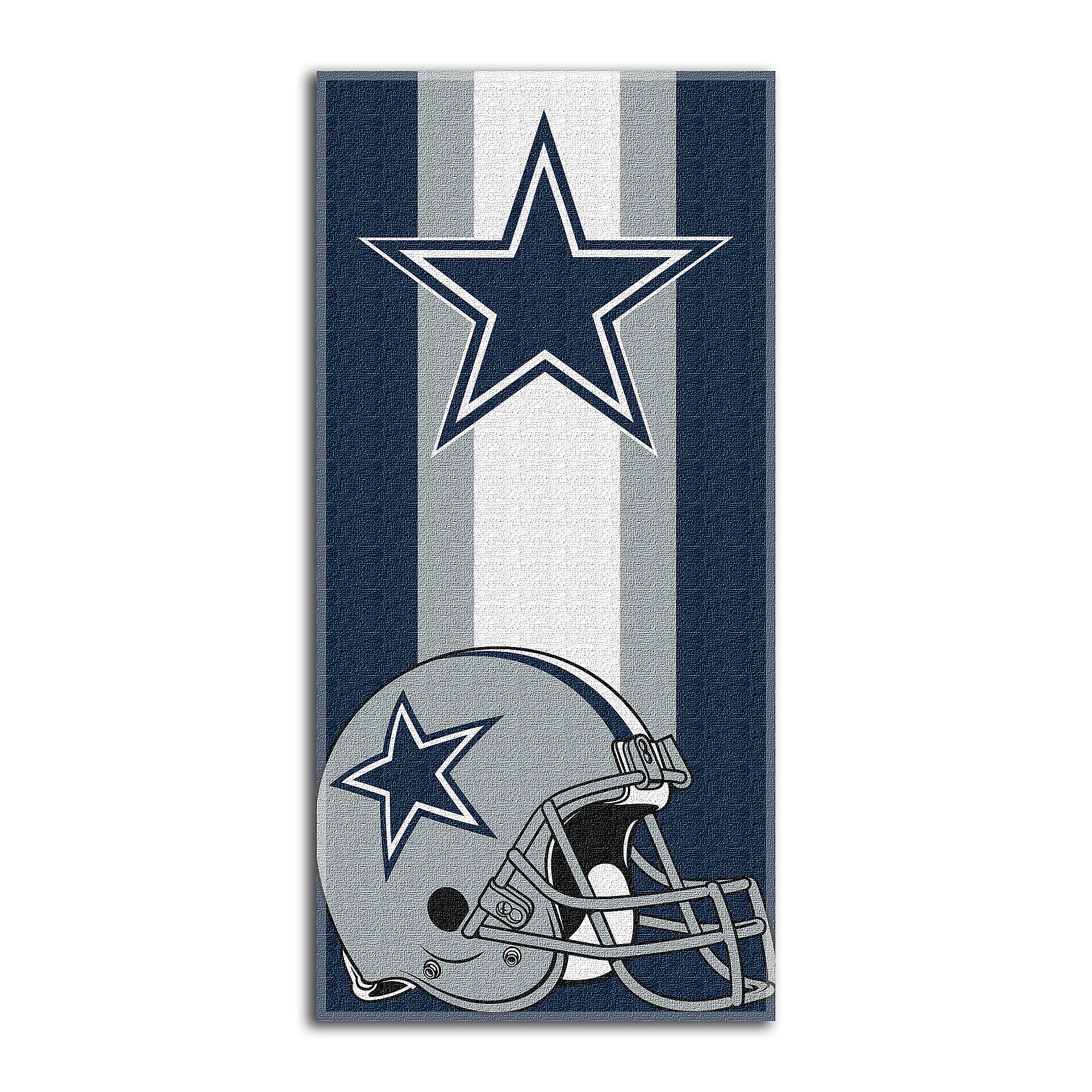Dallas Cowboys 30 x 60 Zone Read Beach Towel  b460c25dfbdf