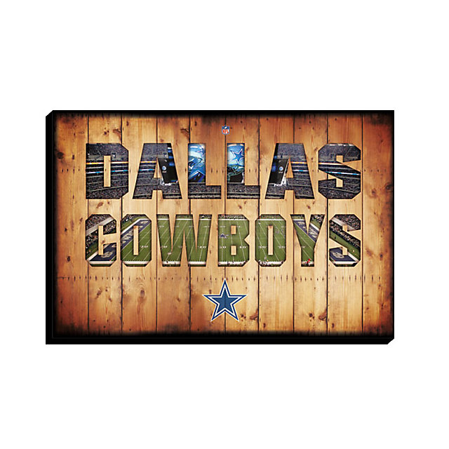 Home Decor Stores Dallas: Dallas Cowboys Canvas Art