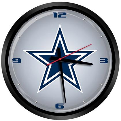 dallas cowboys premium clock office home office accessories