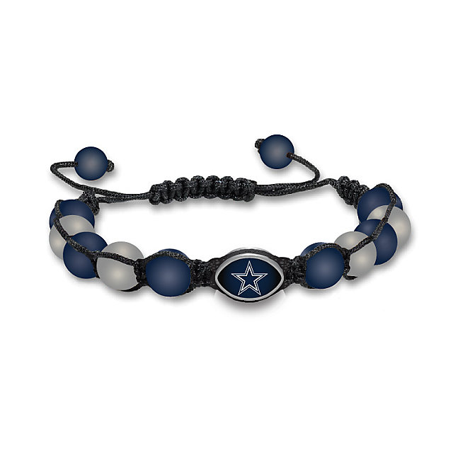 Dallas Cowboys Beaded Bracelet