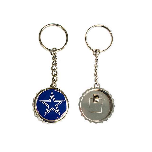 Dallas Cowboys Bottle Cap Key Tag