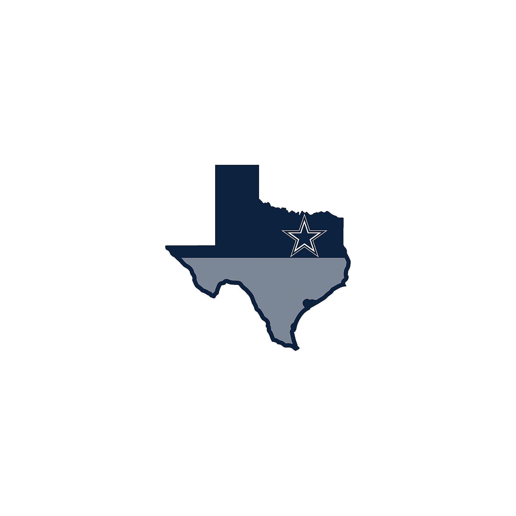 6e7fb04e Dallas Cowboys State of Texas Magnet