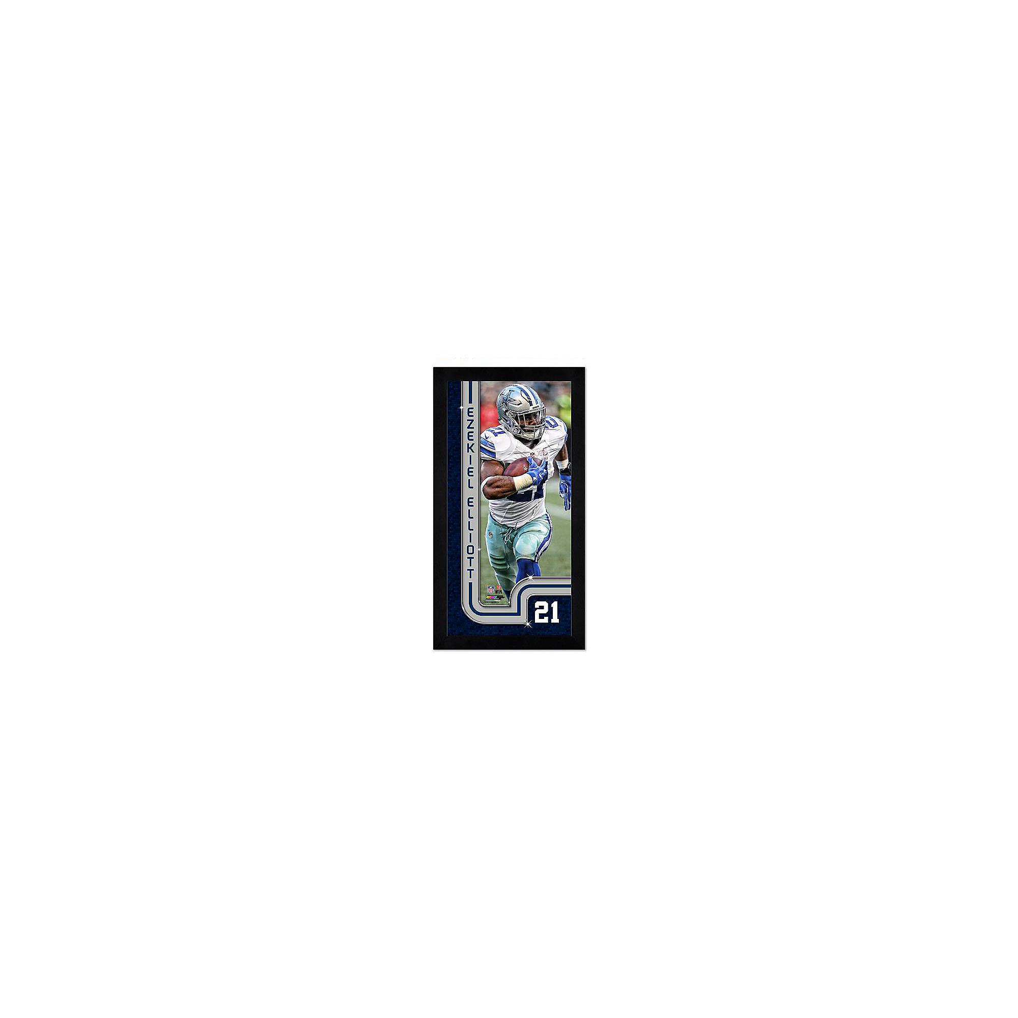 209b5f80d25 Dallas Cowboys Ezekiel Elliott Mini Frame | Dallas Cowboys Pro Shop