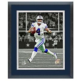 Dallas Cowboys 11x14 Dak Prescott Sport Frame