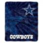 Dallas Cowboys Burst Sherpa Throw