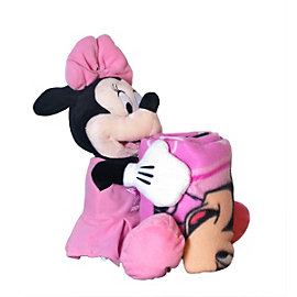 Dallas Cowboys Disney Minnie Mouse Hugger with Blanket