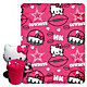 Dallas Cowboys Hello Kitty Hugger with Blanket