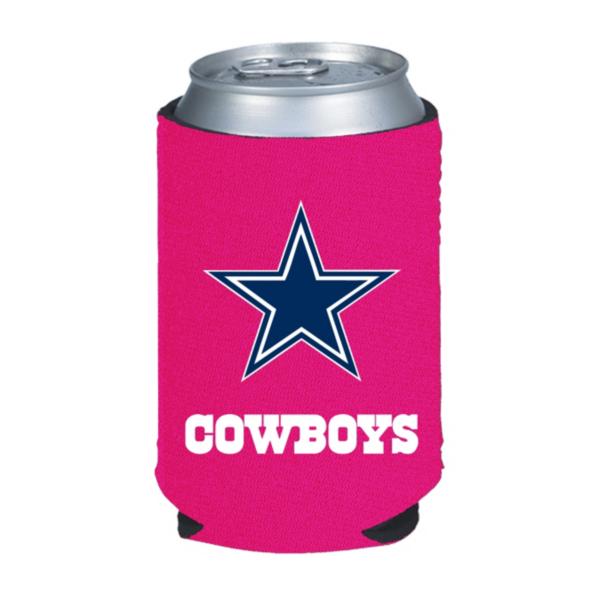 Dallas Cowboys Pink Caddy Koozie