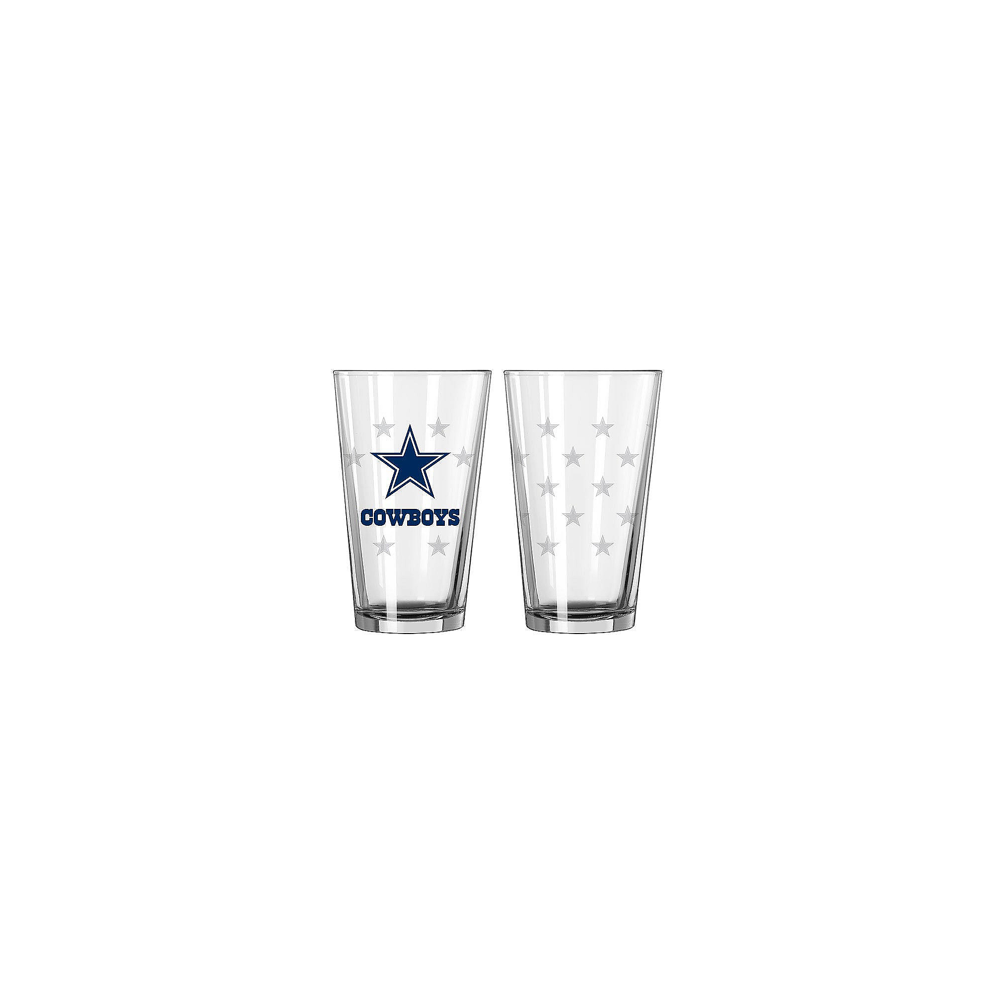 bb7b4dfbb486 Dallas Cowboys 16oz. Satin Etch Spray Pint Glass | Dallas Cowboys ...