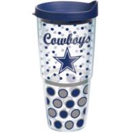 Dallas Cowboys Tervis 24 oz. Polka Dot Travel Mug