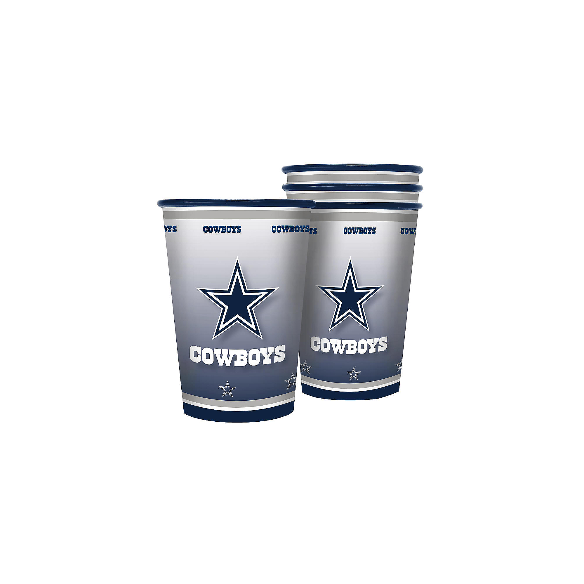 Dallas Cowboys 20 oz. 4-Pack Tailgate Souvenir Cup
