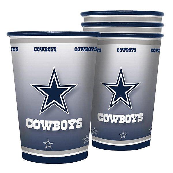 Dallas Cowboys 20 oz. 4-Pack Tailgate Souvenir Cup