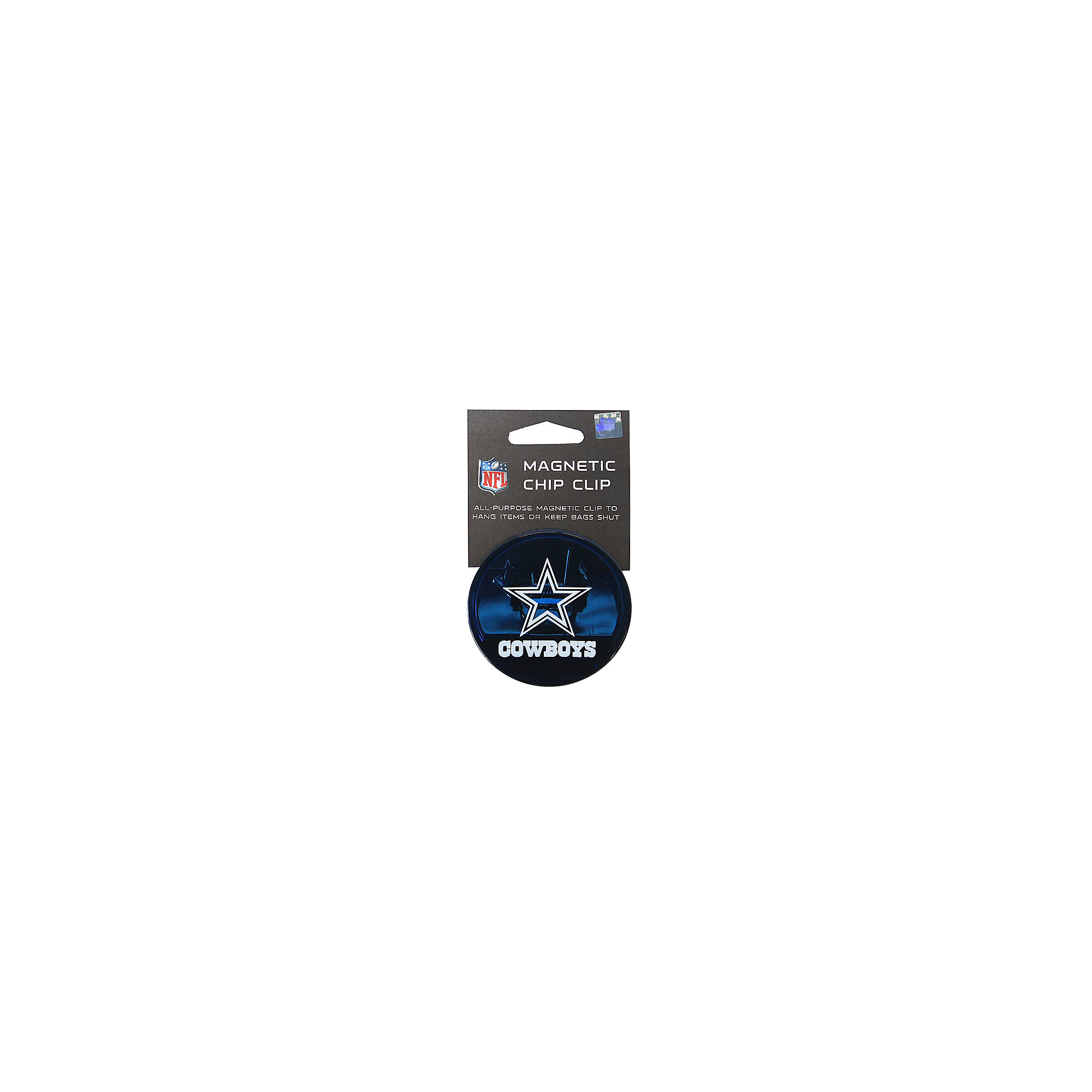 Dallas Cowboys Magnetic Chip Clip