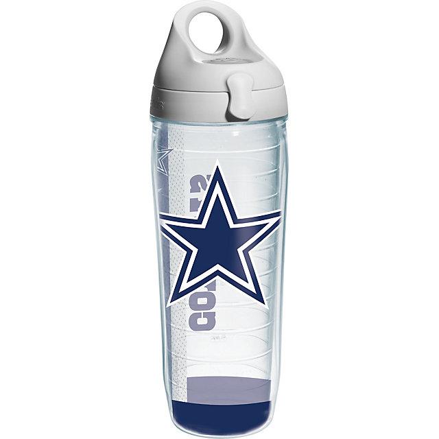 Dallas Cowboys Tervis 25 Oz Wrap Water Bottle Glassware