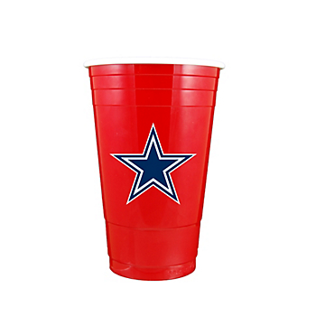 Dallas Cowboys Red Plastic Party Cup