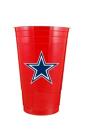 Dallas Cowboys Red Plastic Party Cup