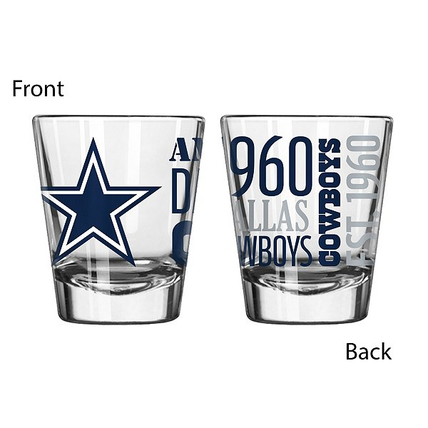 Dallas Cowboys Spirit Shot Glass