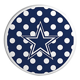 Dallas Cowboys Ceramic Polka Dot Coaster