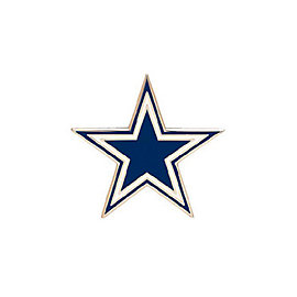 Dallas Cowboys Star Logo Pin