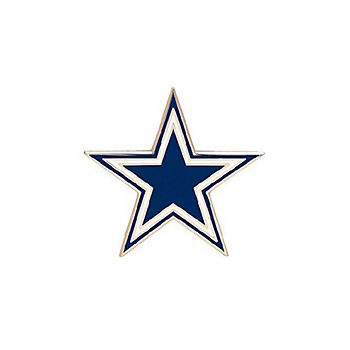 Dallas Cowboys Star Logo Pin