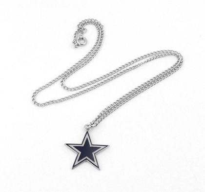 Dallas cowboys star necklace jewelry accessories womens dallas cowboys star necklace jewelry accessories womens cowboys catalog dallas cowboys pro shop aloadofball Images