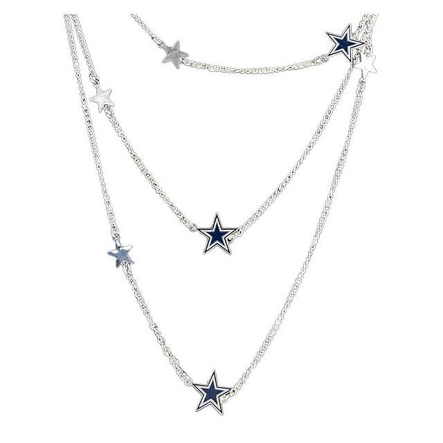 Dallas cowboys wrap around dc star necklace jewelry accessories dallas cowboys wrap around dc star necklace jewelry accessories womens cowboys catalog dallas cowboys pro shop aloadofball Images