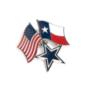 Dallas Cowboys Star and Flags Pin