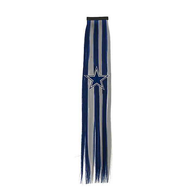 Dallas Cowboys Hair Clip with Ribbon