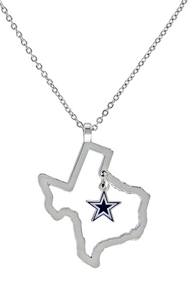 Dallas cowboys state of texas star necklace jewelry accessories dallas cowboys state of texas star necklace jewelry accessories womens cowboys catalog dallas cowboys pro shop aloadofball