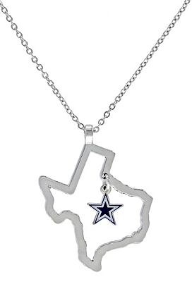 Dallas cowboys state of texas star necklace jewelry accessories dallas cowboys state of texas star necklace jewelry accessories womens cowboys catalog dallas cowboys pro shop aloadofball Images