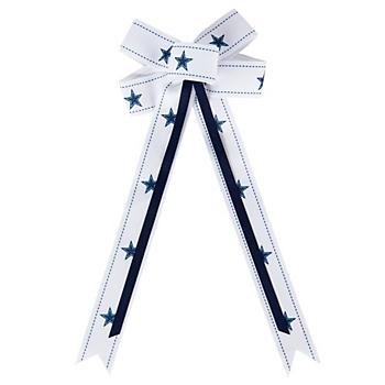 Dallas Cowboys Hair Bow Ribbon Clip
