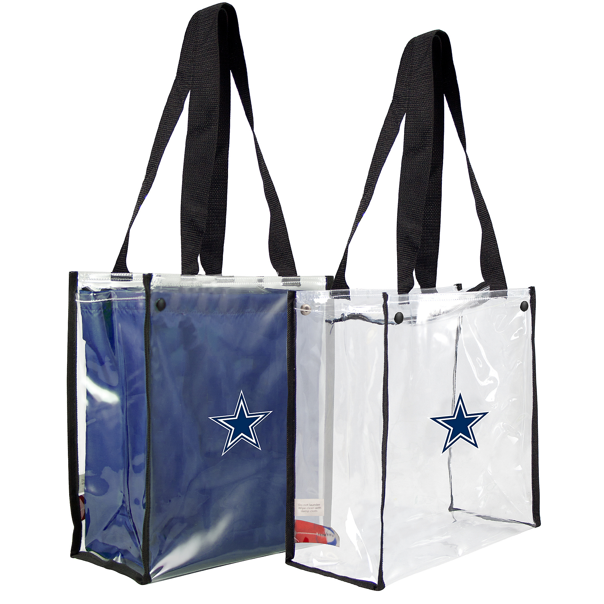 Dallas Cowboys Clear Convertible Tote