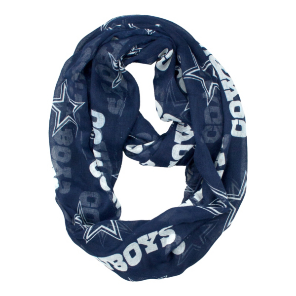 Dallas Cowboys Sheer Infinity Scarf