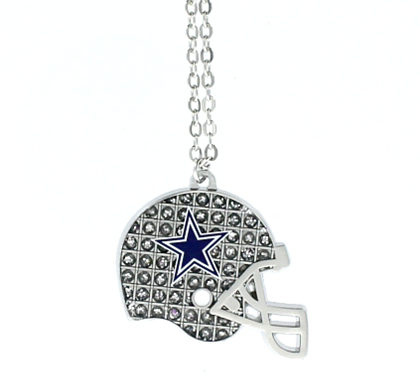 Dallas cowboys glitter helmet necklace jewelry accessories dallas cowboys glitter helmet necklace jewelry accessories womens cowboys catalog dallas cowboys pro shop aloadofball