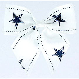 Dallas Cowboys Hair Bow Clip
